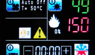 Control Panel touch screen