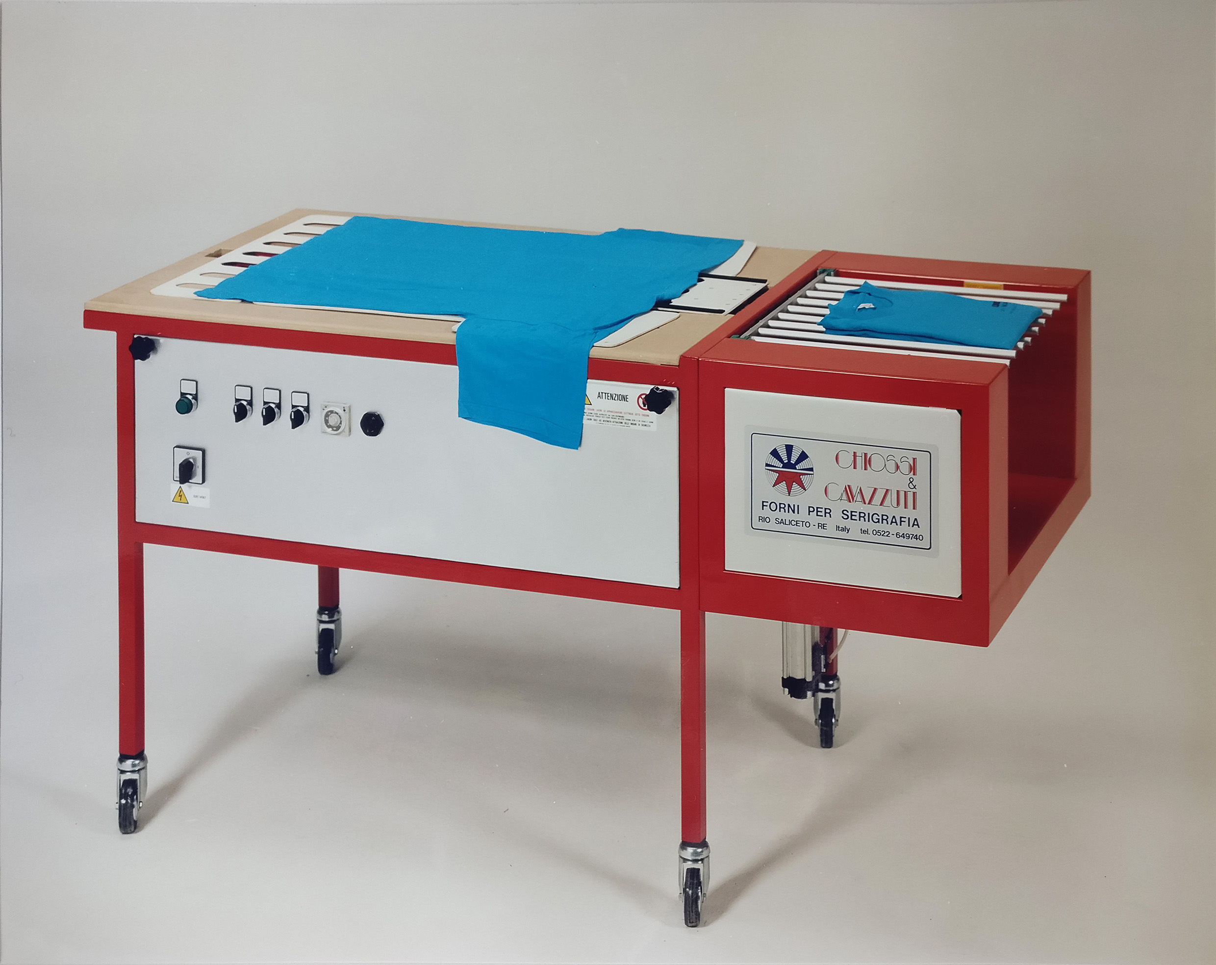 """Spanky"" - first folding machine model in 1994"