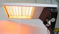 Spot Easy con lampade accese da sotto