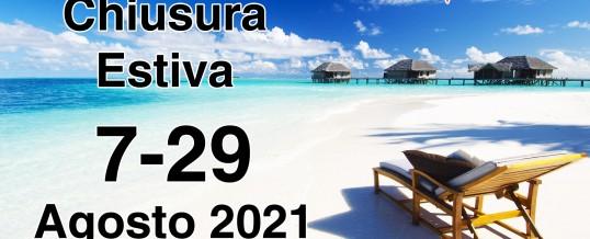 SUMMER BREAK 2021